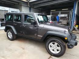 grey jeep wrangler 4 door jeep wrangler 4 door in hawaii for sale used cars on buysellsearch