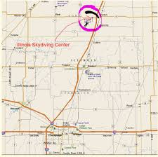 Lincoln Illinois Map by Illinois Skydiving Center The Best Place To Jump In Central