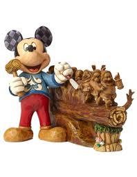 disney traditions jim shore mickey carving the seven dwarfs