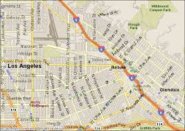 map of burbank ca map directions