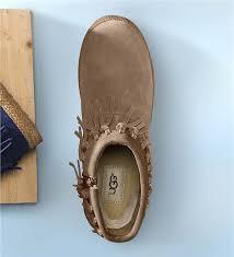 Brown Fringe Ankle Boots Ugg Women U0027s Shenendoah Fringe Ankle Boots Boots