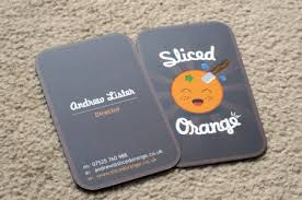 showcase of sided business cards designm ag
