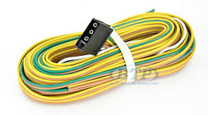 boat trailer light wiring harness 4 flat 35ft to re do trailer lights