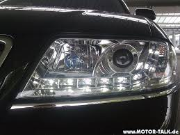 audi r8 headlights 01 04 audi a6 r8 style devil eye led projector headlights dash z
