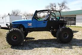 jeep rock crawler 1993 jeep yj rock crawler classic jeep wrangler 1993 for sale