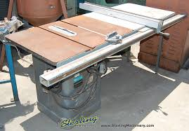 central machinery table saw fence 10 used rockwell table saw mdl 34 461 unisaw sterling