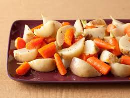 glazed carrots and turnips recipe food network kitchen food
