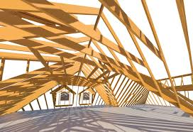 Free Wood Truss Design Software by Rafter Framing For Roof Models In Revit Wood Framing Rafter