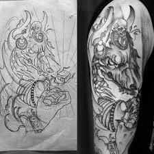Anubis Tattoo Ideas Male With Anubis Upper Arm Tattoo Tattoo Pinterest Anubis