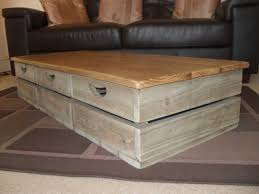 Rustic Square Coffee Table With Storage Rustic Storage Coffee Table Best Gallery Of Tables Furniture