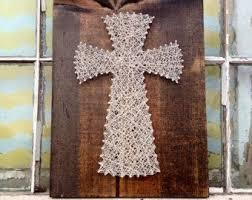religious decorations for home custom cross string art religious christian decor home decor