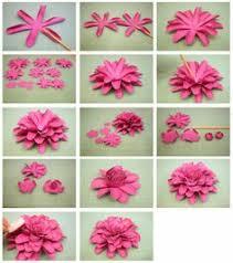 bits of paper 3d dahlia u0026 another mum paper flower plus
