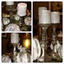 dollar tree diy faux mercury glass candlestick holders z gallerie