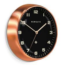 buy newgate clocks chrysler wall clock reverse dial amara