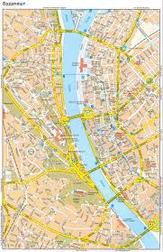 Map Of Budapest центра будапешта Map Of The Center Of Budapest