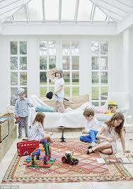 Rugs Zara Home Play And Display Five Children And A Beautifully Styled White