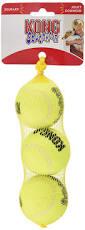pet supplies pet toy balls kong air squeaker tennis balls 3