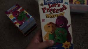 my favorite barney u0026 friends vhs tapes youtube
