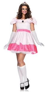 Mario Princess Peach Halloween Costume Mario Bros Princess Peach Size Halloween Costume Adorable