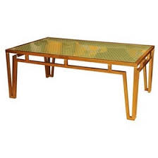 house of hton console table eglomise coffee table designed by bunny williams transitional