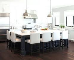 large kitchen island table kitchen island kitchen island with table at end kitchen