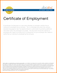 Hvac Resume Template Hvac Certification Letter Sample Of Certification Of