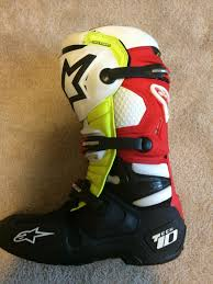 motocross boots size 11 alpinestar tech 10 canard boots size 11 320 for sale bazaar