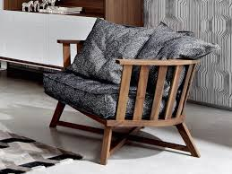 Gray Armchair Armchair With Armrests Gray 07 By Gervasoni Design Paola Navone