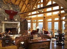 luxury log home adore your place interior design