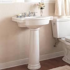 simple home decoration decorative pedestal sink standard pedestal sink on simple home