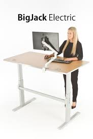 Standing Or Sitting Desk by 24 Best Industrial Adjustable Height Desk Ideas Images On