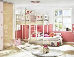 Bedroom  Space Saving Bunk Bed Ideas For Teenage Girls Bedroom - Girls room with bunk beds