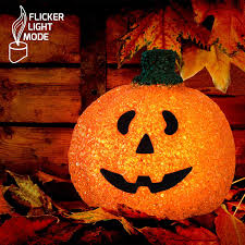 plastic light up halloween pumpkins amazon com light up happy jack o lantern pumpkin decoration toys