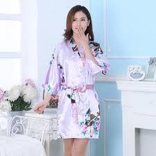 Robe De Chambre En Soie Femme by Robes De Femmes En Soie Promotion Achetez Des Robes De Femmes En