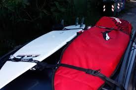 porta per auto kitesurf porta surf auto fcs