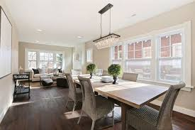 Transitional Dining Rooms Dining Room With High Ceiling U0026 Chandelier In Denver Co Zillow