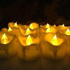 led tea lights with timer aliexpress com buy 240pcs lot flameless led tea light w timer wax