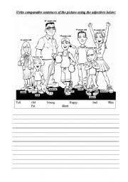 worksheet comparative