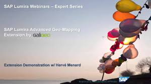 Geo Mapping Sap Lumira Advanced Geo Mapping Extension By Galigeo Youtube
