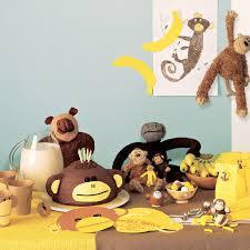monkey party decorations u0026 video martha stewart