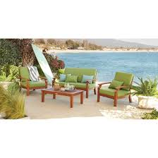 Wood Patio Chairs Brooks Island Wood Patio Furniture Collection Smith U0026 Hawken