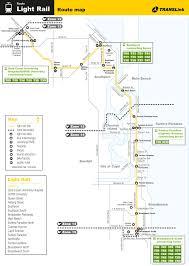 Gold Line Map Gold Coast Light Rail Map