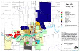 Map To Home Rush City Minnesota Planning Commission 2017