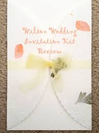 wedding invitation kits wilton wedding invitation kit review