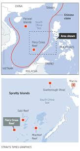 Spratly Islands Map China Installs Rocket Launchers On Disputed Spratlys In South