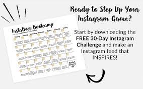 Challenge Instagram Free 30 Day Instagram Challenge Hemlock Honey