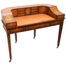 fine 19th century english adam style carlton house desk for sale