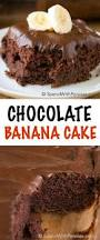 chocolate banana cake spend with pennies