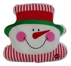 tache cute christmas lights chilly snowman microbead led throw