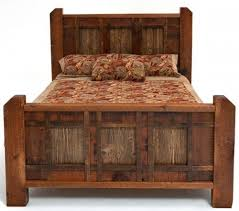 reclaimed bed barn wood bed antique wood bed bedroom furniture